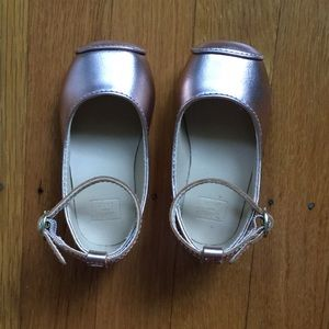 Janie and Jack rose gold dress shoes, 5